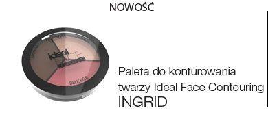 Paleta do konturowania twarzy Ideal Face Contouring INGRID Cosmetics